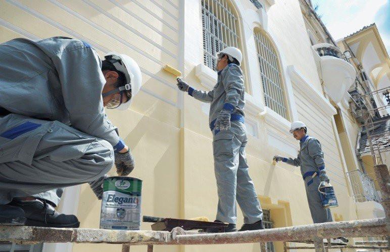 Thi công sơn nhà - Lumar